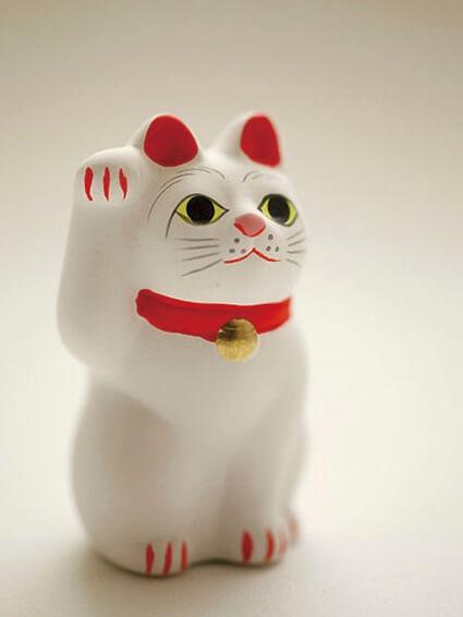 世田谷区・豪徳寺のご祈願済み招福猫児(まねきねこ)