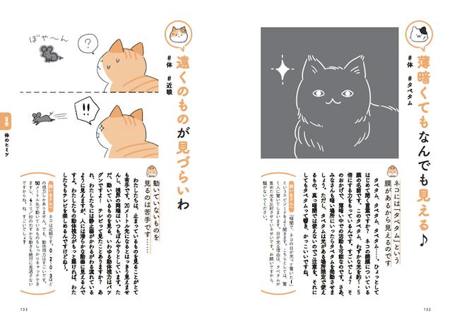 第五章 体のヒミツ:書籍「飼い主さんに伝えたい130のこと ネコがおしえるネコの本音」