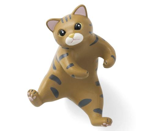 猫の歯ブラシホルダー、キジトラ