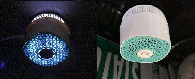 暗闇を感知してLED光を照射する消臭器、VentiFresh(ベンティフレッシュ)
