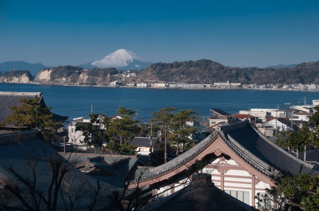 猫寺・光明寺からの眺望イメージ写真