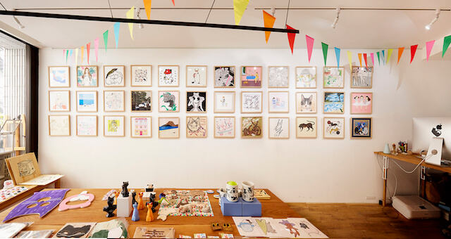 ギャラリー・ルモンドの作品展示風景