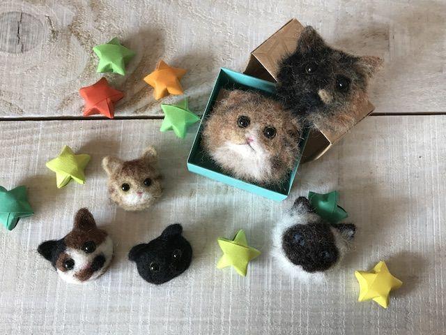 フェルトの猫グッズ by にゃんともニャンズマーケット