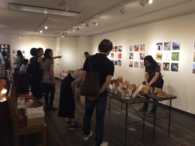 「100匹のどやねこ展」の会場・開催風景