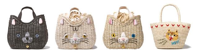猫トートバッグ「RT.デリ SN Basket」