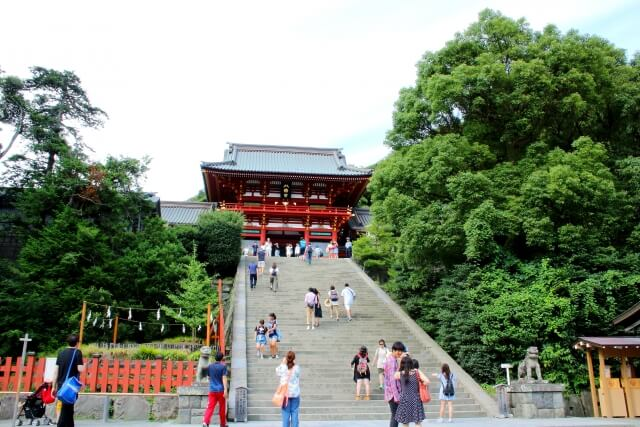 鎌倉・鶴岡八幡宮のイメージ写真