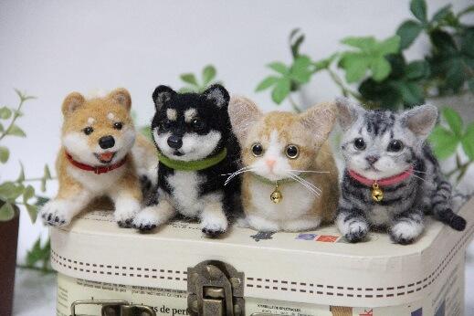 中山みどりさんによる羊毛フェルトアート講習会「愛犬愛猫を作ろう」