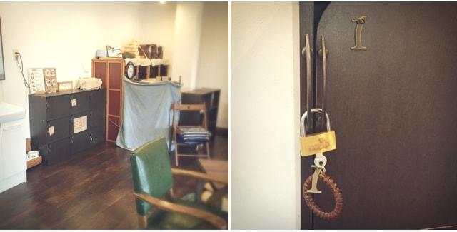キジトラ専門の猫カフェ「cat cafe しましま屋」の鍵付きロッカー