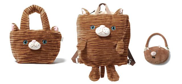 猫トートバッグ「RT.デリ SN Fur Animal」
