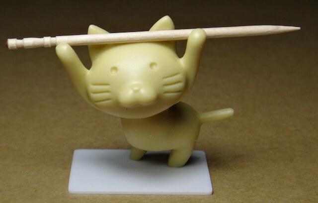 猫のつまようじ置き by にゃんともニャンズマーケット