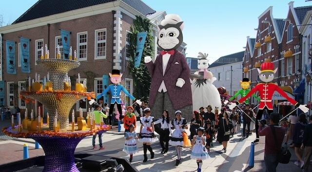 ハウステンボスのハロウィーンイベント「キャットパレード」