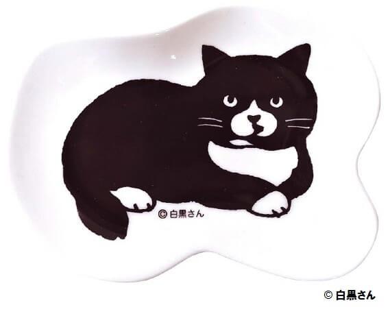 白黒さんいらっしゃい、豆姫皿