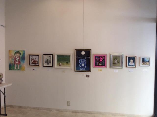 「2017 それぞれの猫展」の展示作品