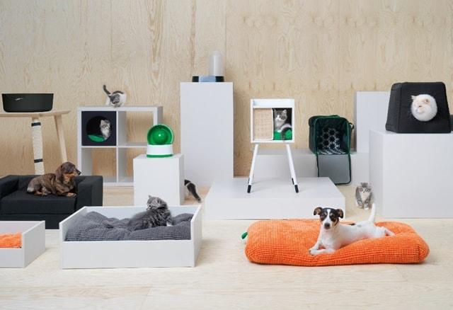 イケア(IKEA)から、新しいペット用品シリーズ「LURVIG(ルールヴィグ)」