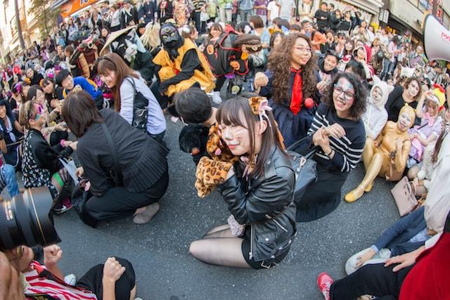 化け猫フェスティバル、化け猫パレードの参加者