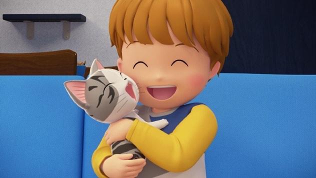 山田家に拾われた子猫のチー