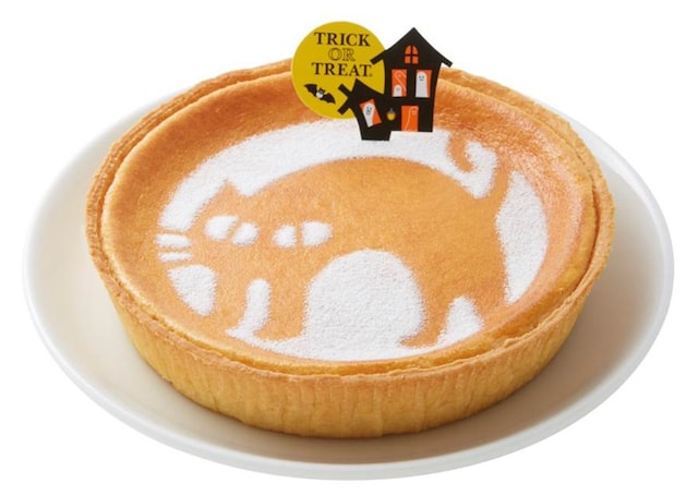 洋菓子屋モロゾフのハロウィーン デンマーククリームチーズケーキ(クローニャ)
