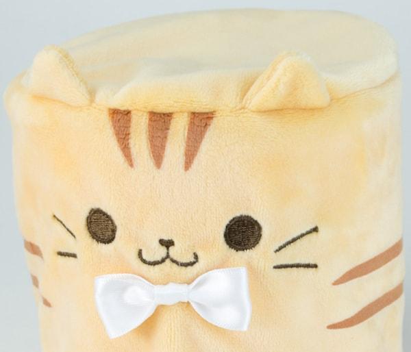 ガチャガチャでゲットできる、猫がデザインされた可愛いトイレットペーパーカバー