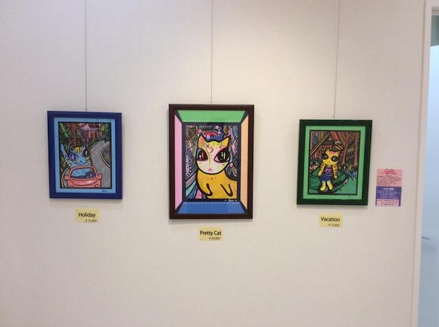 BON-Tomoe(小高朋恵)さんの猫作品