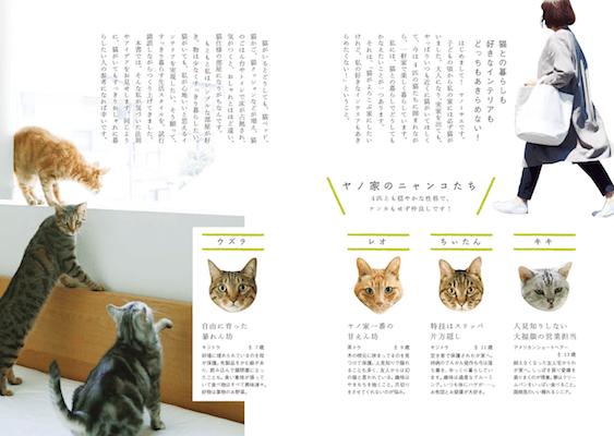 4匹の猫を飼っているヤノミサエさんのノウハウを収録