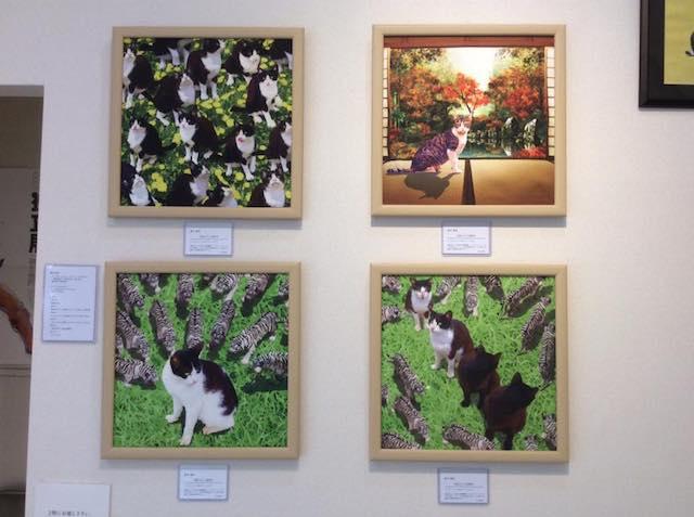 横木憲幸さんの猫作品