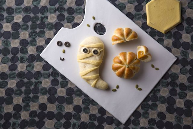 おばけパン&かぼちゃあんぱん by シェラトンのカフェ トスティーナ
