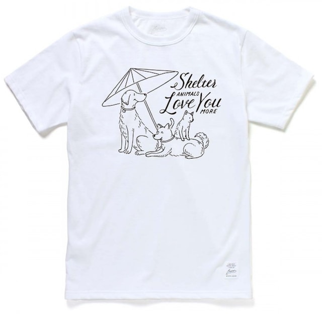 NPO「アニマルレフュージ関西(ARK)」へのチャリティーTシャツ by JAMMIN