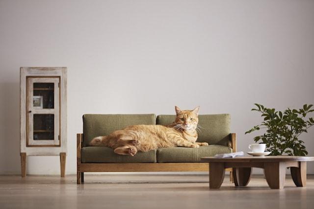 大川家具の職人が作った「職人 MADE」のネコ家具