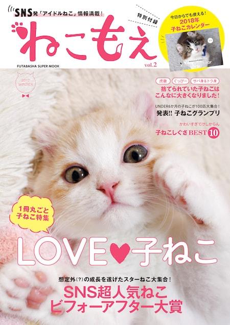 SNSのアイドル猫たちを集めたムック本「ねこもえ2」