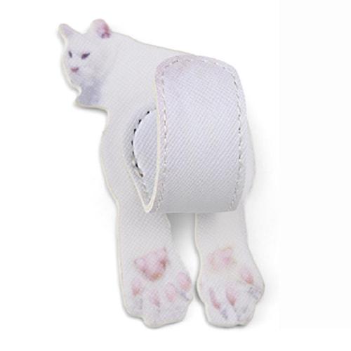 猫のしっぽスマホアクセサリー(白猫)の肉球