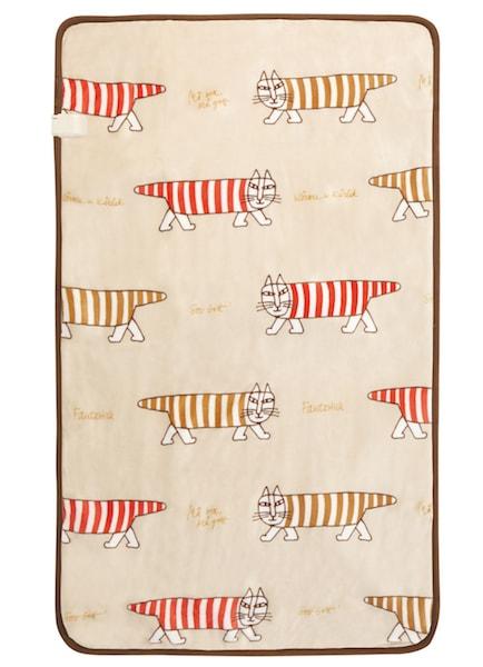 リサ・ラーソン「マイキー」電気敷毛布 KDS-L101