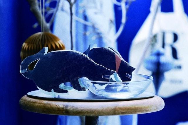ニトリのペーパー加湿器、うるおい三毛猫 Babies