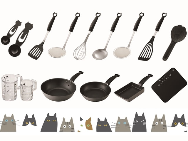 貝印の猫型キッチンアイテムNyammy(ニャミー)、第2弾が登場
