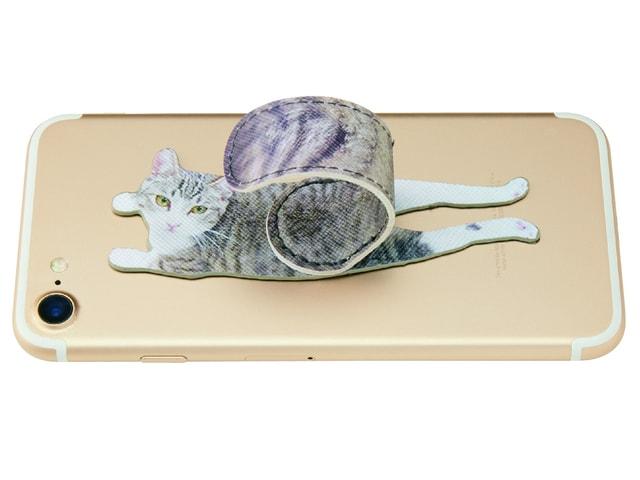 ネコのしっぽがスマホスタンドになる可愛らしいアクセサリーが登場