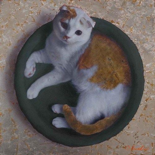 吾輩の猫展、展示作品1