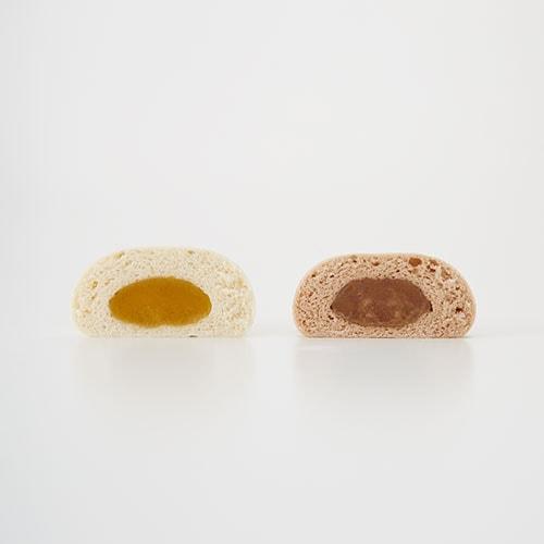 ニャムチャの餡は「安納芋あん」と「マロングラッセあん」の2種類