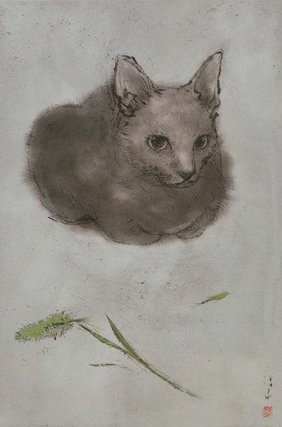 吾輩の猫展、展示作品3