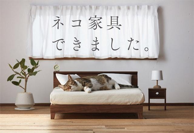 ネコベッド by ネコ家具