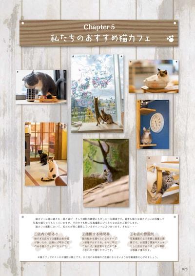 書籍「ねこの撮り方まとめました!」第五章、猫カメラマンおすすめの猫カフェ