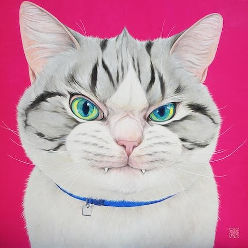 吾輩の猫展、展示作品6