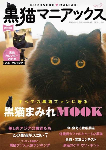 黒猫マニアックスVol.2の表紙