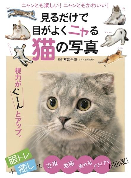 「見るだけで目がよくニャる猫の写真」の表紙