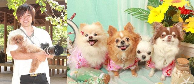 カメラマンの「アニマルアートノーブランド」による愛猫・愛犬撮影会