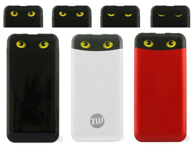 ネコの目が電池残量を教えてくれる!猫好きのためのモバイルバッテリー