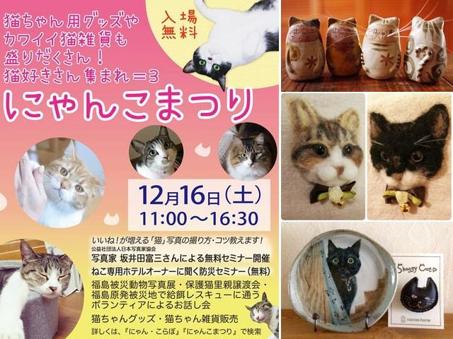横浜の住宅展示場で猫好きのためのイベント「にゃんこまつり」が開催