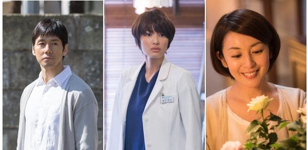 ドラマ「ブランケット・キャッツ」の出演者、西島秀俊、吉瀬美智子、酒井美紀
