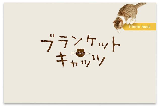 ブランケット・キャッツ DVD-BOXの特典、メイキングフォトブック