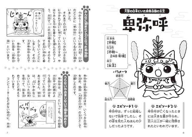 卑弥呼の解説ページ by ねこねこ日本史でよくわかる 日本の歴史