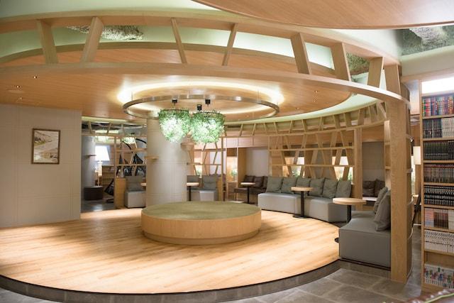 猫カフェMoCHA(モカ)の新宿店の広い店内