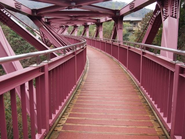 あやとり橋のイメージ写真・橋の正面(AC)